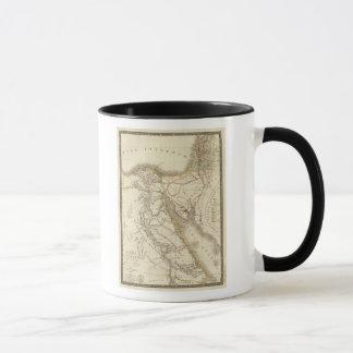 Mug Carte d'atlas de Moyen-Orient