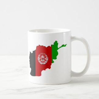 Mug Carte de drapeau de l'Afghanistan