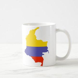 Mug Carte de la Colombie