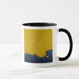 Mug Carte de la Louisiane 2