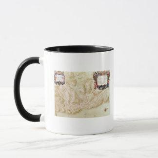 Mug Carte de la ville et de la citadelle de Bellisle
