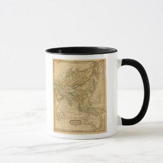 Mug Carte de l'Asie par Worcester