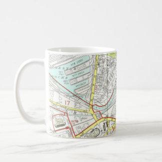 Mug Carte de Manchester