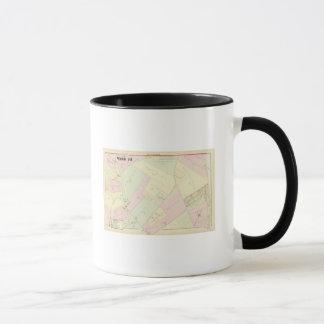Mug Carte de Providence Île de Rhode