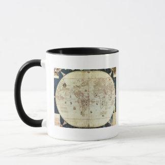Mug Carte de Rc C 2487 du monde, conçue par Sebastien