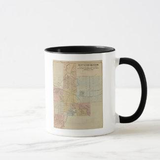 Mug Carte de Rochester, Minnesota