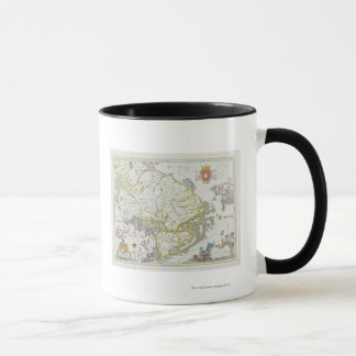 Mug Carte de Stockholm, Suède