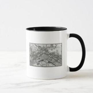 Mug Carte de Westminster de 'spéculum Britannia