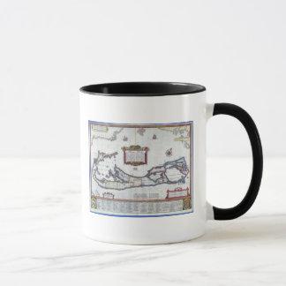Mug Carte des Bermudes