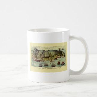 Mug Carte du Gibraltar 1765