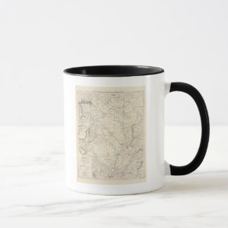 Mug Carte du grand Chaco et des régions voisines