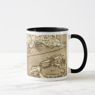 Mug CARTE : La JAMAÏQUE, 1767