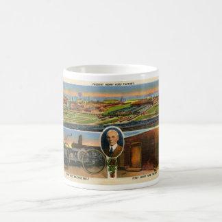 Mug Carte postale de Henry Ford