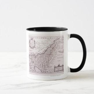 Mug Carte sacrée de la Palestine, la terre promise