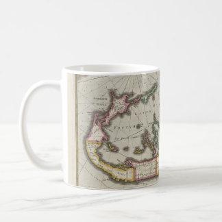 Mug Carte vintage des Bermudes (1638)