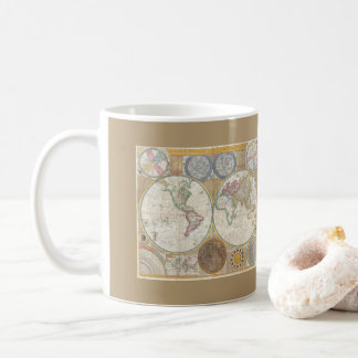 Mug Carte vintage du monde