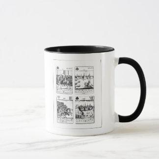 Mug Cartes de jeu commémorant