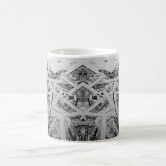 Mug Cartes de jeu d'image retournée