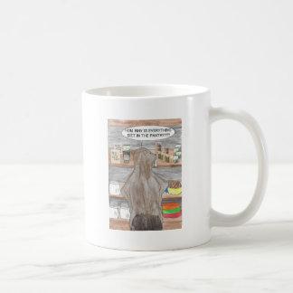 Mug Castor affamé