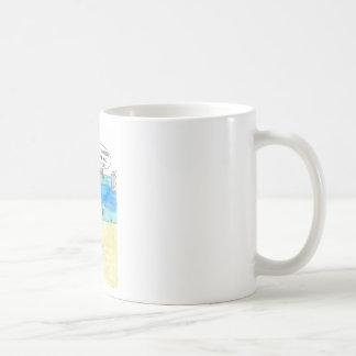 Mug Castor contre la peinture