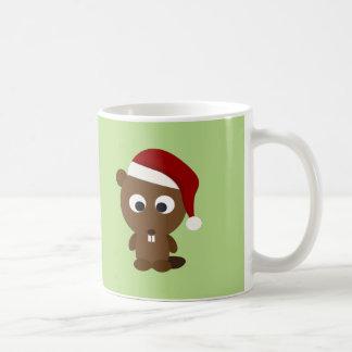 Mug Castor de Père Noël