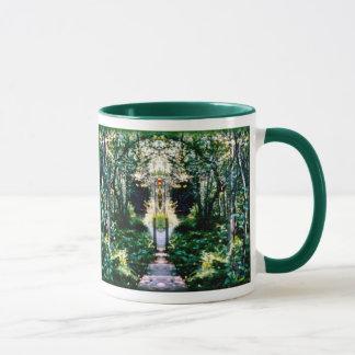 Mug Cathédrale dans le bois