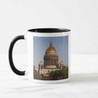 Mug Cathédrale d'Isaac de saint, de la rivière de Neva