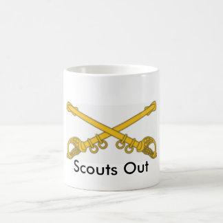 Mug Cavalerie, scouts