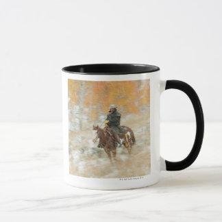 Mug Cavalier de Horseback sous la pluie