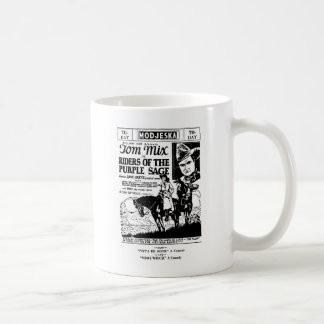 Mug Cavaliers de Tom Mix de l'annonce occidentale 1925