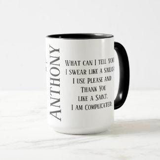 Mug Ce qui peut je vous indiquer attaquer avec votre