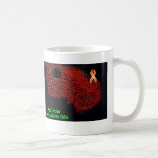 Mug Cellules de foie de attaque de HepC