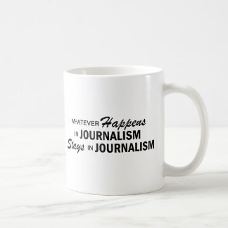 Mug Celui qui se produise - journalisme