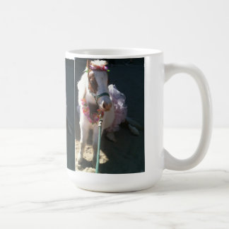 Mug Cerise miniature de cheval de tour de ballerine