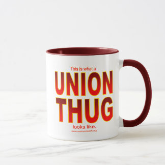 Mug C'est à quel VOYOU des SYNDICATS ressemble