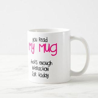 Mug C'est assez