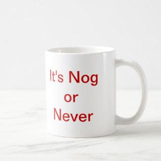 Mug C'est cheville en bois ou jamais