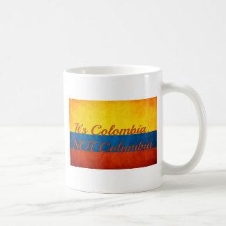 """Mug """"C'est la Colombie, pas Colombie """""""