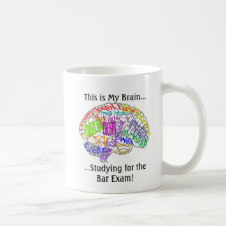 Mug C'est mon examen du barreau de cerveau…