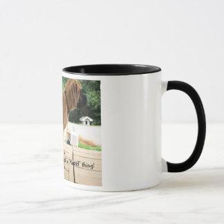 """Mug C'est une chose de """"mastiff"""" ! Le mastiff anglais"""