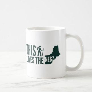 "Mug ""Cet randonneur aime la Nouvelle Angleterre 67"""