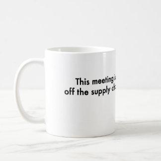 Mug Cette réunion est outre de la chaîne