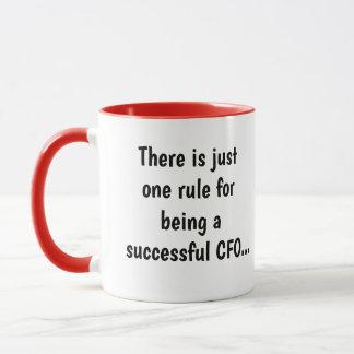 Mug CFO réussis - Citation célèbre profonde drôle de