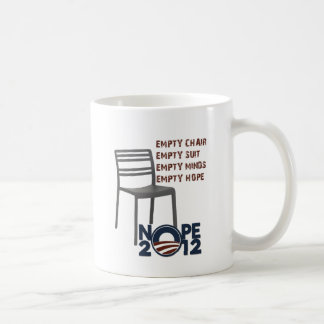 Mug Chaise vide, Obama vide