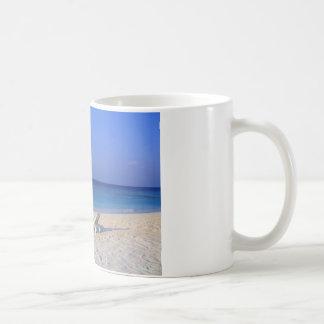 Mug Chaises sur la plage - personnalisable