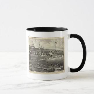 Mug Chambre de Coleman, parc d'Asbury, NJ