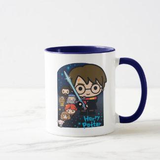 Mug Chambre de Harry Potter de bande dessinée des