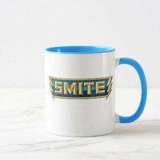 Mug Champ de bataille de logo de COUP VIOLENT des