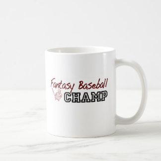 Mug Champion de base-ball d'imaginaire