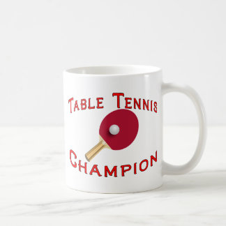 Mug Champion de ping-pong